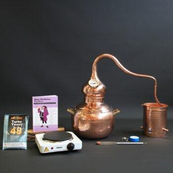 Complete moonshine alembic still set type B | Distillation Supplies
