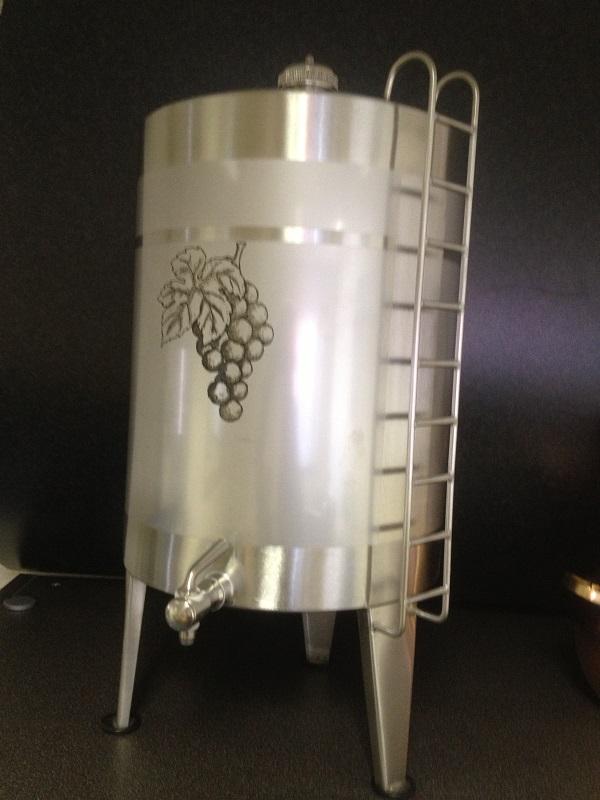 Stainless steel spirit keg   Distillation Supplies
