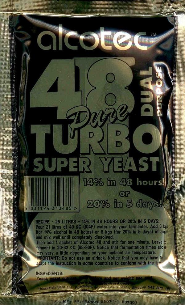 Turbo Yeast | Distillation Supplies