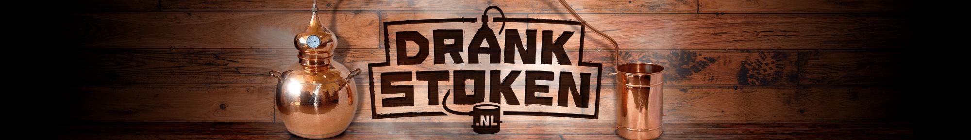 Drankstoken.nl website header