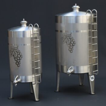 Stainless steel spirit keg | Distillation Supplies