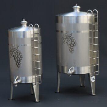 Stainless steel spirit keg | Distillation Supplies
