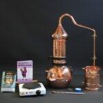 complete copper column still set | Distillation Supplies