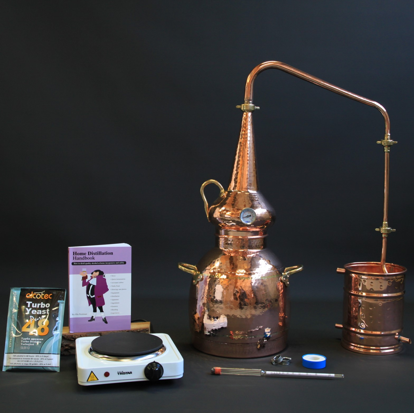 Complete whisky still set | Distillation Supplies