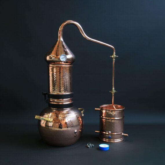 Copper column still   Distillation Supplies