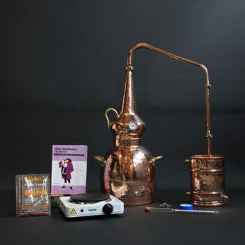 Complete whisky still set | Distillation Supplies